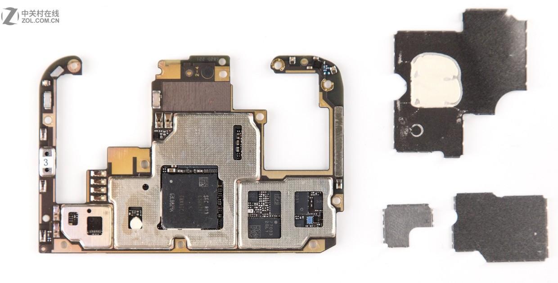 vivo nex主板上有什么芯片?