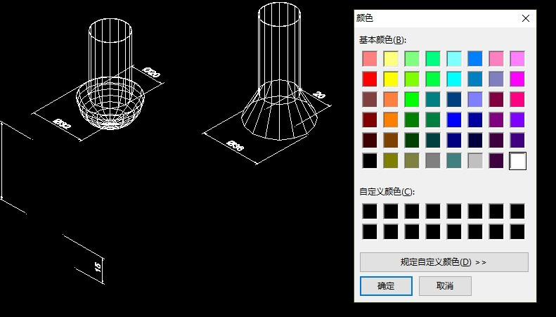 CADv图纸中转化应该图纸的图纸颜色想要更改为t3背景图片