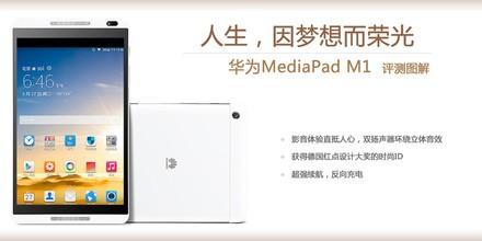 华为 MediaPad M1评测图解