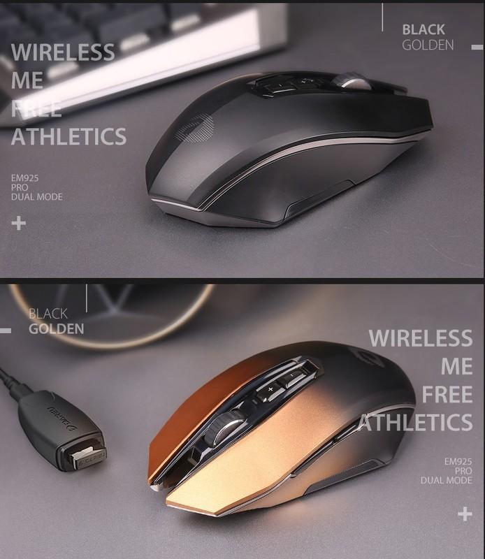 有线鼠标不方便线太乱了,推荐个便宜点的多模无线鼠标?