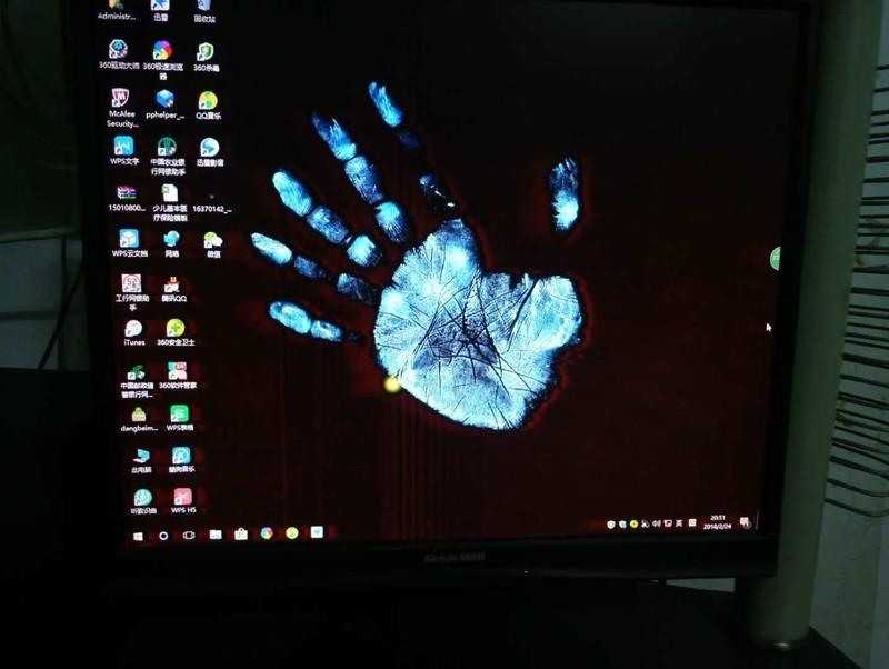 希望有大神能解决我家电脑的花屏问题,实在不行告诉我我家电...
