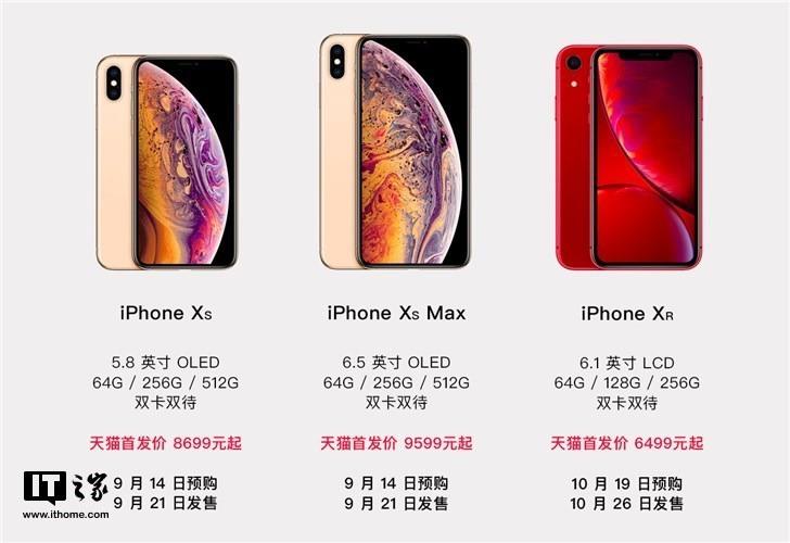 iPhoneXs和iPhoneXr哪个好?