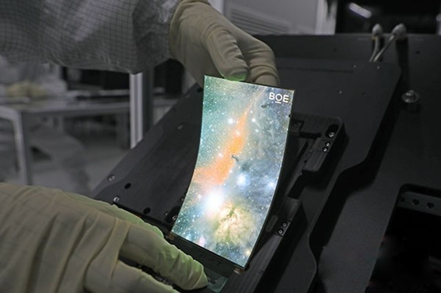 中国大陆地区面板厂可以生产OLED面板吗?