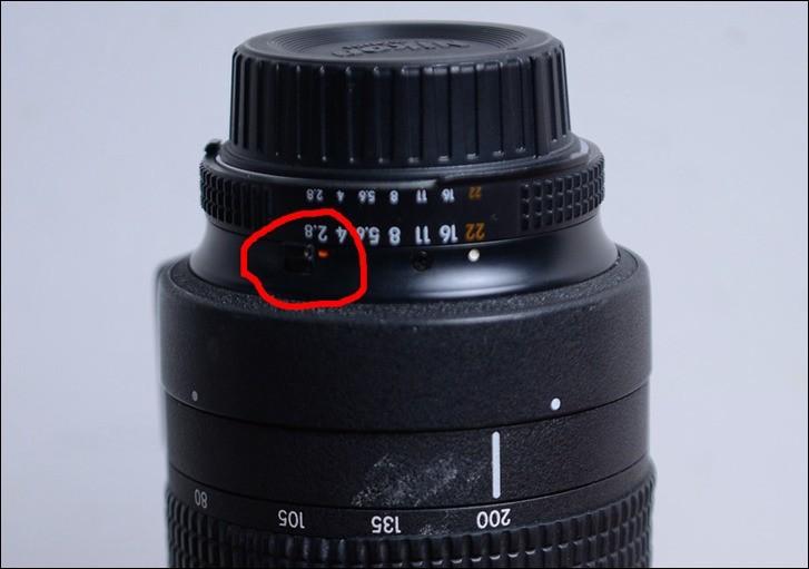 关于镜头的使用和说明,红圈处的今天是什么作用的?